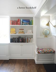 11 Things for a Better Bookshelf - Cupcakes