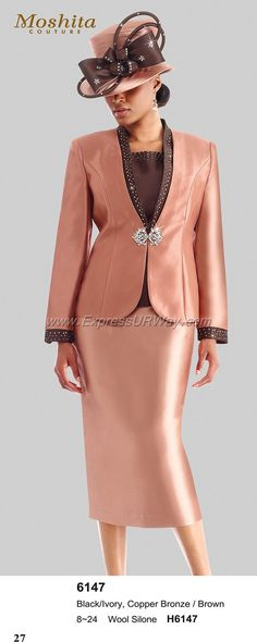 Moshita 6147 Womens Church Suits
