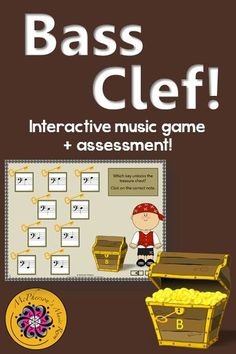 Reading notes on the Treble Clef staff including ledger lines is so easy for your elementary music students with this fun interactive music game! Great activity to add to your Orff or Kodaly lesson plan! Piano Lessons, Music Lessons, Music Classroom, Music Teachers, Classroom Ideas, Music Education Activities, Music Games, Music Mix, Fun Music