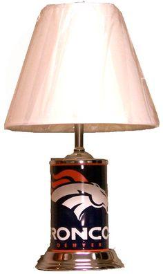 NFL Denver Broncos Home Decor Table/Desk Lamp