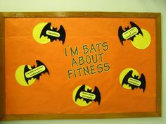 I'm Bats About Fitness (Halloween) Image