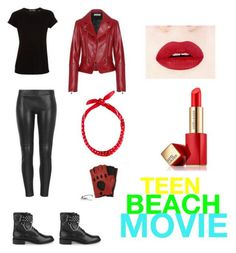 Teen beach moviebiker outfit by liked Cute Costumes For Tweens, Teen Beach Movie Costumes, Halloween Costumes For Teens, Biker Girl Halloween Costume, Biker Costume, Cute Casual Outfits, Outfits For Teens, 50s Outfits, Greaser Style
