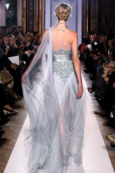 Zuhair Murad 2014 | Zuhair Murad Haute Couture Spring 2013: Knocking at the Chambre - Reminds me of a siren...