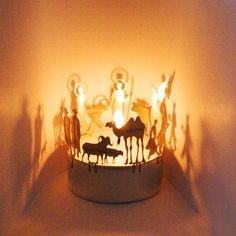tealight nativity