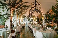#16 of our ultimate travel guide 2017 - featuring 150 of the best hotels in the world - is the enchanting grape arbor-drenched dining room of @lesirenuse in Positano Italy. Pick up a copy of the February issue featuring cover star #ClaireDanes and get the travel guide free. #BazaarLoves #BazaarTravel #Travel #Hotel #Food  via HARPER'S BAZAAR UK MAGAZINE OFFICIAL INSTAGRAM - Fashion Campaigns  Haute Couture  Advertising  Editorial Photography  Magazine Cover Designs  Supermodels  Runway…