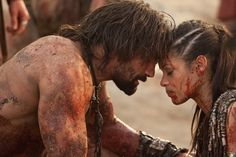 Crixus and Naevia, it's over!