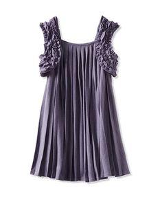 Charabia Girl's Pleated Dress at MYHABIT