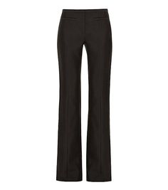 Tory Burch Stretch Wool & Silk Pant