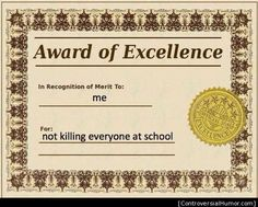 Award of Excellence - http://controversialhumor.com/award-of-excellence/  #Award, #Controversial, #Crude, #Humor, #Lol, #Offensive