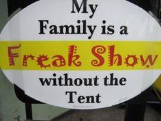 Freak Show!