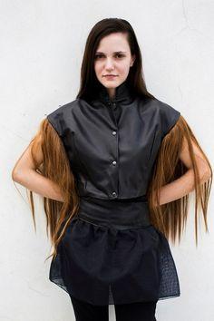 Fur. collection by Federica Fregonese ph. Riccardo Tinelli Model. Selen Righetto
