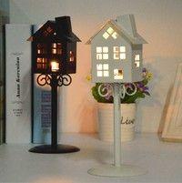 Wish | Dreamy Hanging Iron Candlestick Lantern Candle Holder Home Wedding Decor