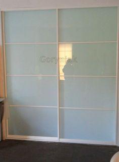 Szkło bezpieczne klejone 2.1.2 profile Calgary Indeco lakierowane na kolor biały
