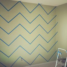 simple chevron strip how to
