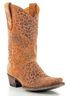 Rusty Spur Couture Old Gringo Leopardito Boots - L168-1, ,