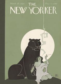 The New Yorker March 28, 1925 Issue   The New Yorker The New Yorker, New Yorker Covers, Fashion Magazine Cover, Magazine Art, Magazine Covers, Art Deco Posters, Vintage Posters, Capas New Yorker, Art Deco Illustration