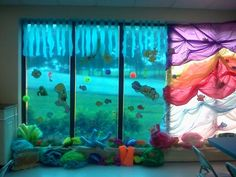 Vacation Bible school decorations: The Great Barrier Reef