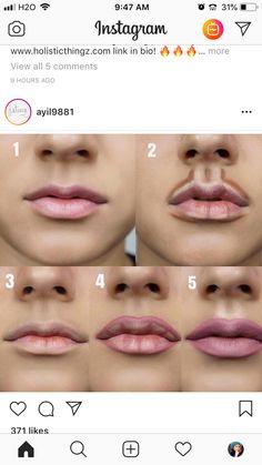 Wird geladen… - Make-up Contour Makeup, Skin Makeup, Highlighting Contouring, Eyebrow Makeup, Lip Makeup Tutorial, Makeup Spray, Beauty Make-up, Makeup Makeover, Best Makeup Tips