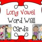 This is a long vowel sound illustrated word wall set. This literacy tool can be displayed on the wall, on bulletin boards, or in a pocket chart to increase phonemic awareness.