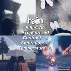 ♡ //rainy filter for rainy days 🌧🌧perfect for calming pics ♡qot Vsco Photography, Photography Filters, Photography Editing, Vsco Pictures, Editing Pictures, Rainy Day Photos, Fotografia Vsco, Fotografia Tutorial, Best Vsco Filters