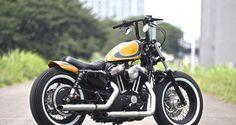 71cm de large, 33 cm de haut et 9cm de retour. Guidon Harley Davidson Sportster 883 48 nightster