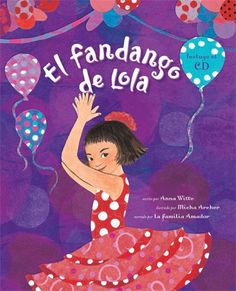 Activities and printables for El fandango de Lola from BarefootBooks. This book is a great choice for Spanish language learners.  http://www.spanishplayground.net/spanish-story-kids-el-fandango-de-lola-activities/