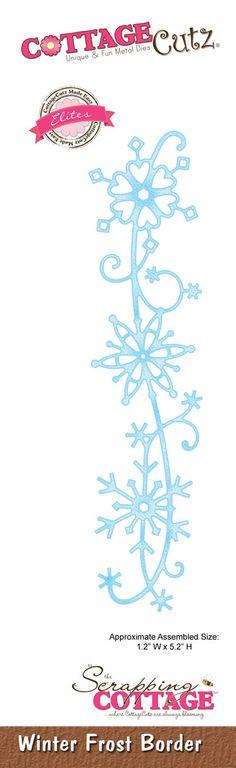 CottageCutz Winter Frost Border (Elites)