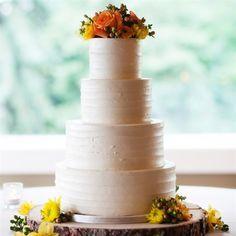 Textured Vanilla Buttercream Cake