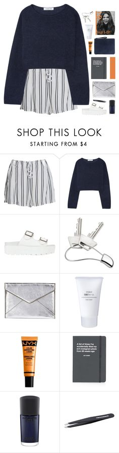 """""""chloe // testing tags"""" by symone-i ❤ liked on Polyvore featuring WithChic, Elizabeth and James, SPURR, Georg Jensen, Rebecca Minkoff, Muji, Ela, NYX, Topshop and MAC Cosmetics"""
