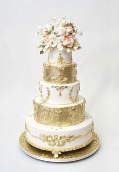 100 Wedding Cakes complètement waouh !