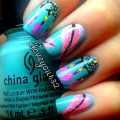 I adore these nails!!