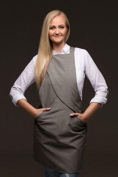 Tie-apron Baker / Tie&Apron Design: Andres Labi, Mariliis Soobard. Model: Teele Teder. Photo: Mardo Männimägi, Stuudio7