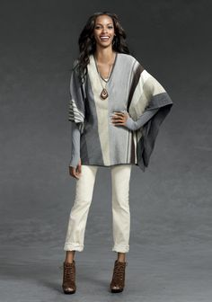 Spirit of Liberty - 3 - CAbi Fall 2012 Collection- Love this poncho!