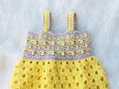 Crochet Baby Dress Pattern Baby Dress Crochet pattern