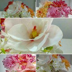 Wafer paper flowers class made by Petya Shmarova