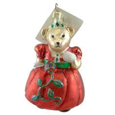 Radko PETITE GRAND VANDERBALL MUFFY 01NAB04 Vanderbear Ornament Christmas New