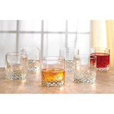 Shop AllModern for Style Setter Rock 11 Oz. Double Old Fashioned Glass - Great Deals on all  products with the best selection to choose from!