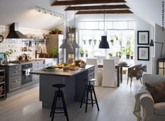 Open Keuken Ideeen : Beste afbeeldingen van open keuken kitchens decorating