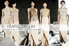 ASIAN MODELS BLOG: Du Juan, Emma Pei, Liu Wen, Shu Pei & Sun FeiFei at 3.1 Philip Lim's 5 Year Anniversary Beijing Show