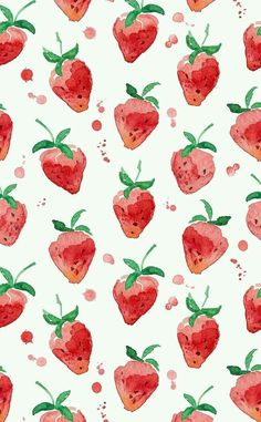Imagine strawberry, wallpaper, and background
