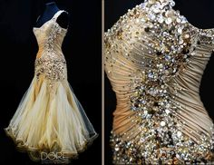Gold Chrisanne Gown
