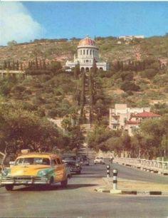 Haifa city  - Palestine - 1953 Baha'i Temple