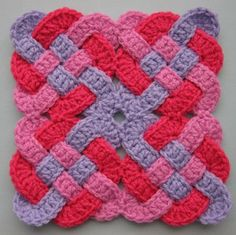 drea_dear: National Crochet Month - Celtic Knot Squares