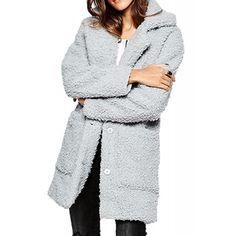 Palton Dama NOISY MAY Teddy Coat High-Rise Teddy Coat, Sweaters, Dresses, Fashion, Vestidos, Moda, Pullover, Sweater