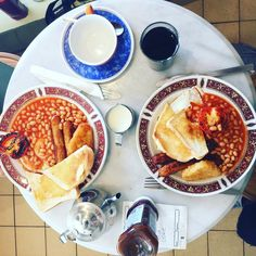 A full English breakfast (of sorts)