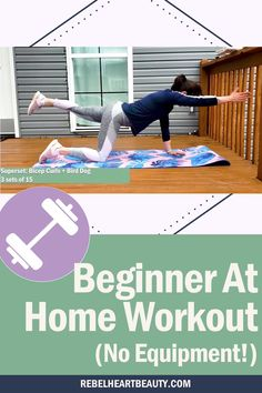 Full body workout at home for beginners