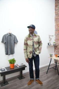 Lorenzo Diggins + The Essential Man Showroom — Workspace Tour