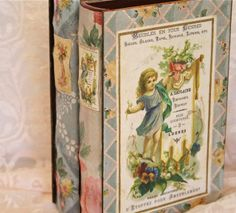 Old books and wallpaper