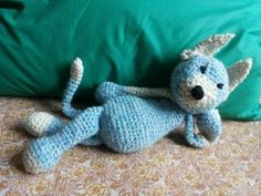 #edsanimals gatto uncinetto - cat crochet amigurumi