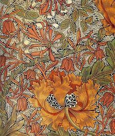 Honeysuckle, by William Morris